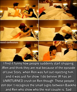Baekho+Ren= Perfect Couple